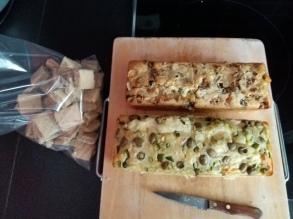 préparation pour le pique-nique du premier jour