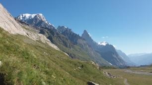 Mont Blanc et Peuterey
