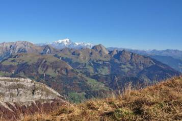 Aravis - Charvin - Mont Blanc