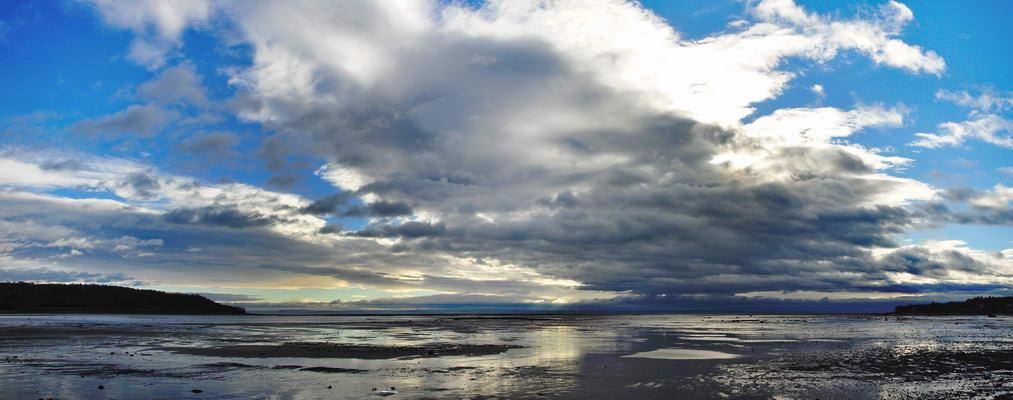 Saint Laurent à marée basse